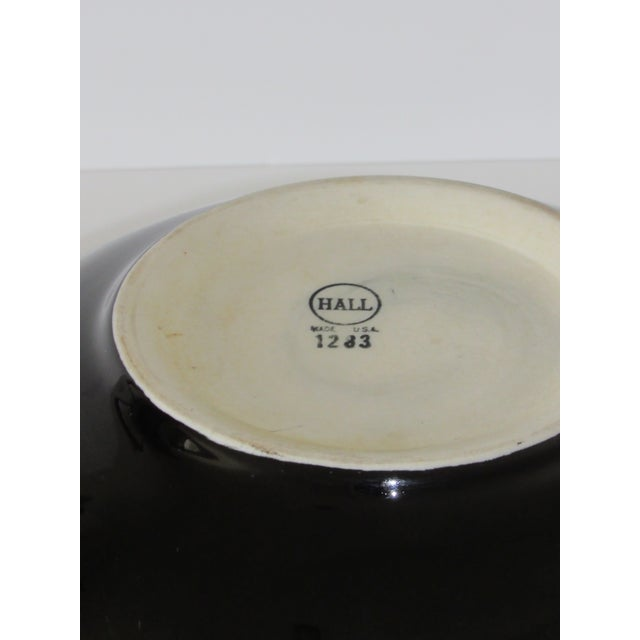 Hall Pottery Black Bowl - Image 5 of 5