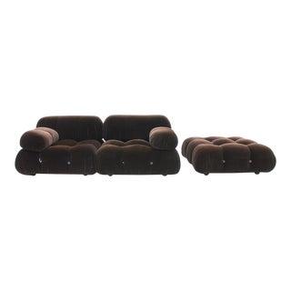 Camaleonda Sofa With Foot Stool by Mario Bellini for B & B Italia For Sale
