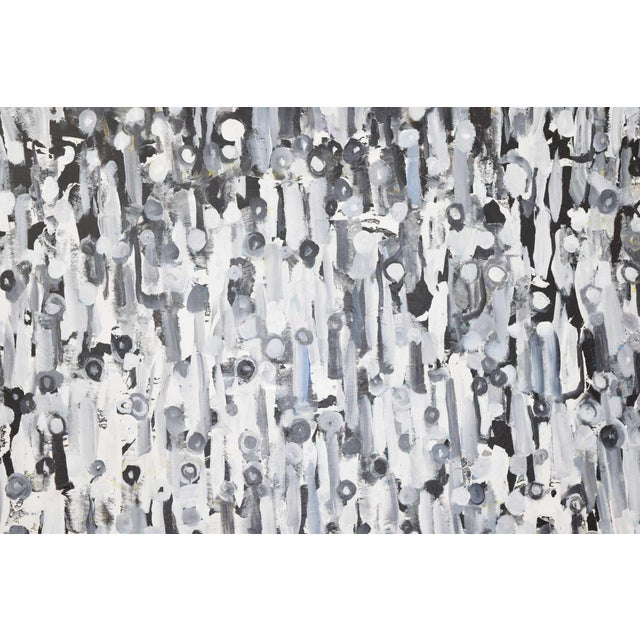 """Larry Locke """"The Crowd"""" Acrylic Painting on Canvas, 2019 For Sale - Image 10 of 12"""