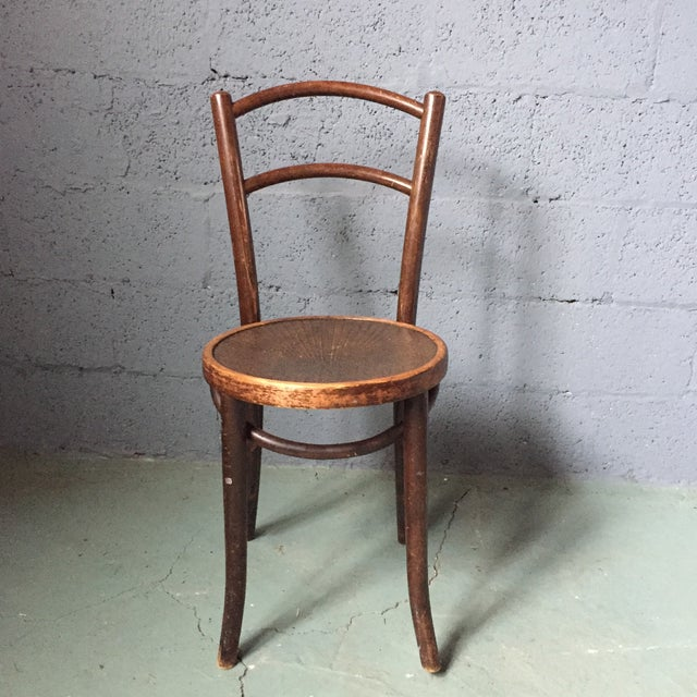 Thonet Bentwood Cafe Chairs - Set of 4 - Image 8 of 11