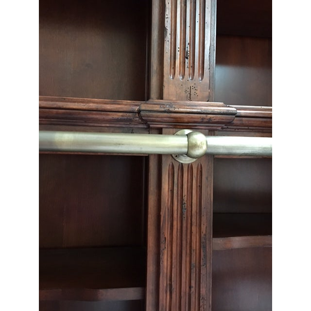 Lighted Library Wall Unit For Sale - Image 4 of 8