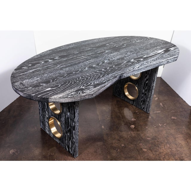 Not Yet Made - Made To Order Disc Desk From on Madison For Sale - Image 5 of 10