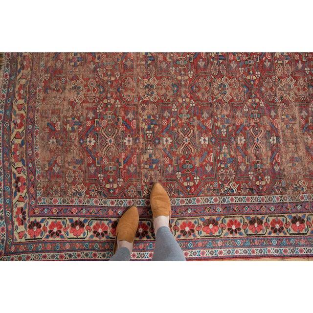"""Antique Kurdish Carpet - 5'10"""" x 8'1"""" For Sale - Image 4 of 13"""