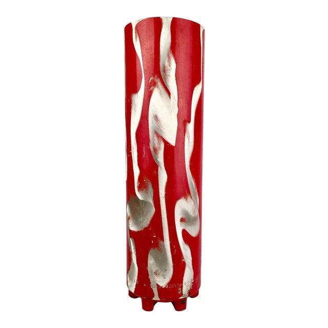 Repurposed Fire Extinguisher Vase - Image 1 of 4