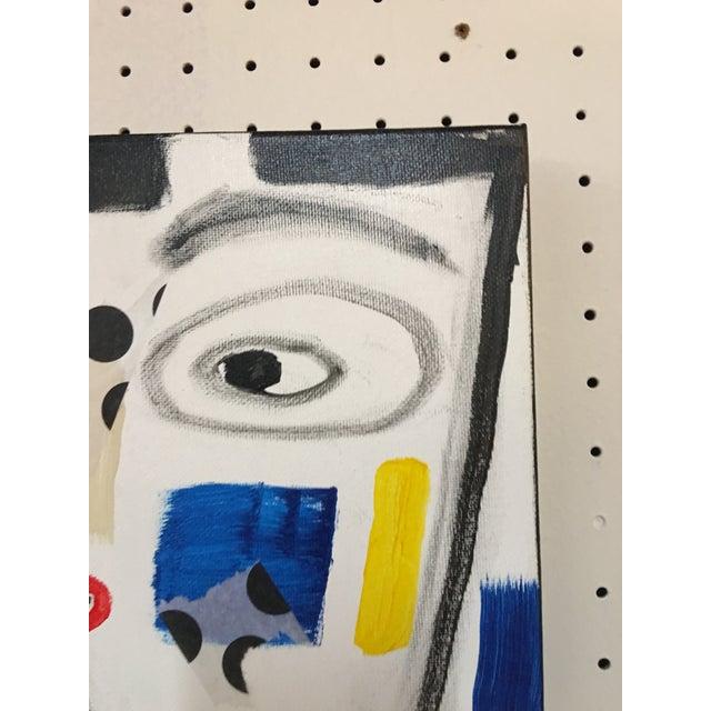 "Phyllis Rinaldi ""II Primary Man"" Original Painting on Canvas - Image 3 of 6"
