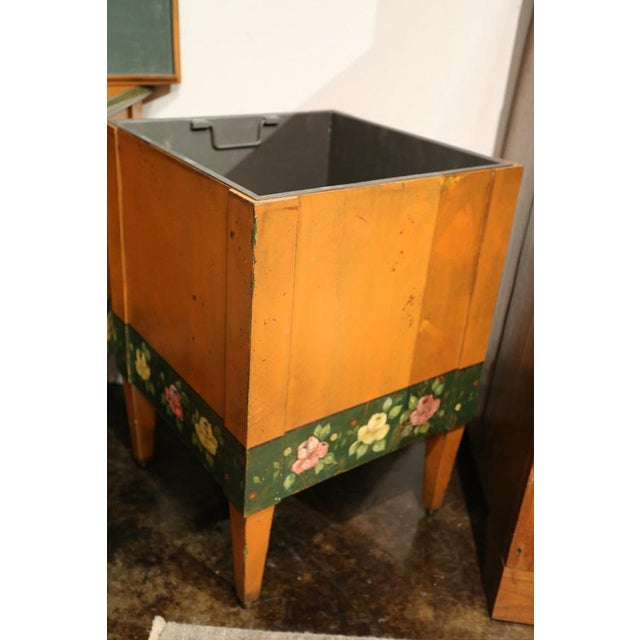 Italian Hand-Painted Flower Boxes - A Pair - Image 5 of 8