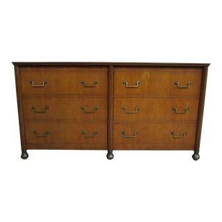 Vintage Baker Furniture Company Mid-Century Modern Lowboy Dresser For Sale
