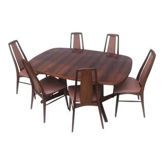 Mid-Century Rosewood Dining Room Set by Niels Koefoed For Sale