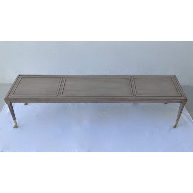 Italian Hollywood Regency Long Cocktail Table - Image 3 of 11