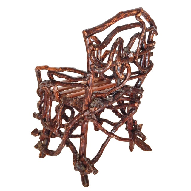 Twig Chair For Sale - Image 4 of 10