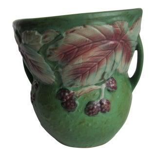 Vintage Roseville Blackberry Vase For Sale