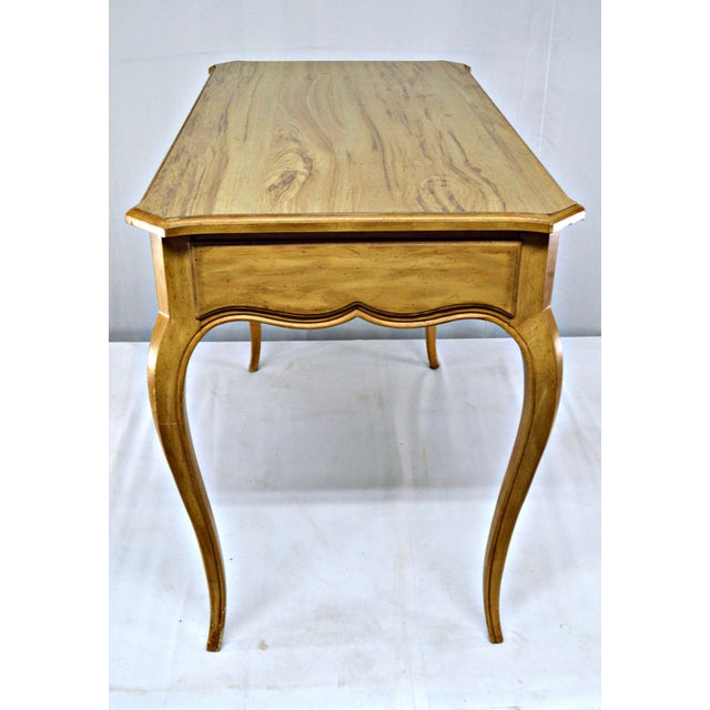 French-Style Cabriole Leg Writing Desk For Sale In Miami - Image 6 of 9