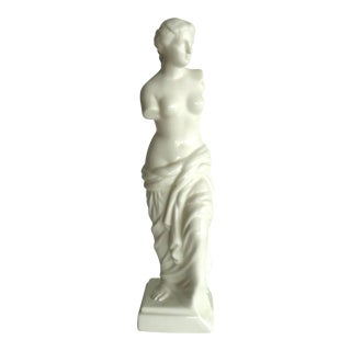 Art Deco Venus De Milo Ceramic Statuette For Sale