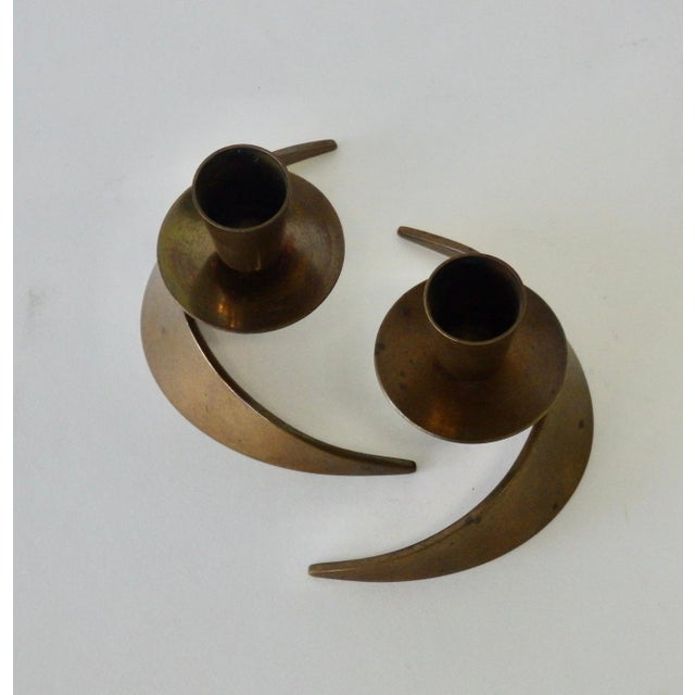 Mid 20th Century Pair of John Prip and Ronald Hayes Pearson Ma.Co. Bronze n.y. For Sale - Image 5 of 7