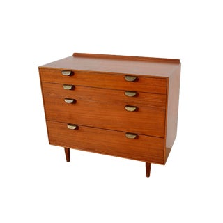 1950s Vintage Baker Furniture Finn Juhl Teak Dresser For Sale