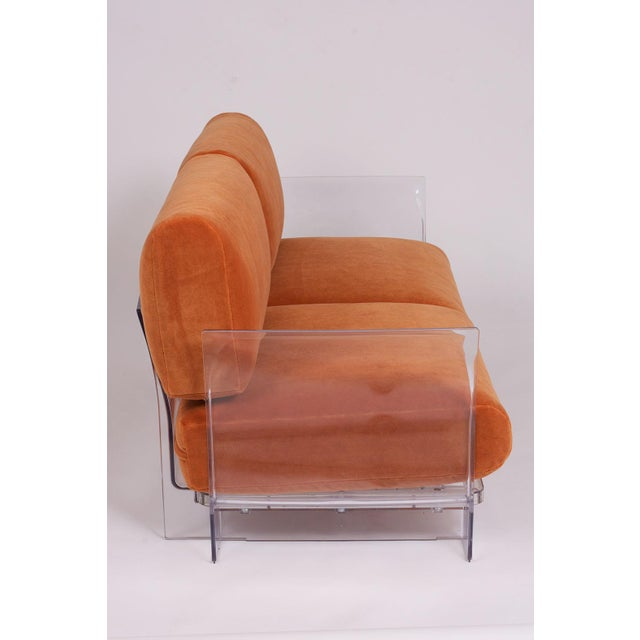 Pair of Lucite Love Seats/ Sofas by Piero Lissoni for Kartell For Sale - Image 10 of 13