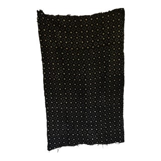 African Patterned Mud Cloth Throw For Sale