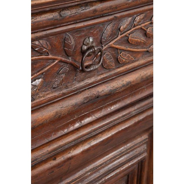 Brown French 18th Century Louis XIII-Style Walnut Buffet For Sale - Image 8 of 13