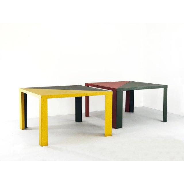 Cassina Massimo Morozzi - Cassina Tangram Table Morozzi Cassina For Sale - Image 4 of 4