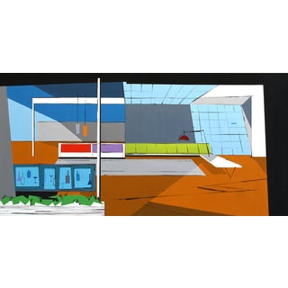 """""""Apartment Set for Untitled Movie No. 2"""" Urban Artwork by Michael Murphy For Sale"""