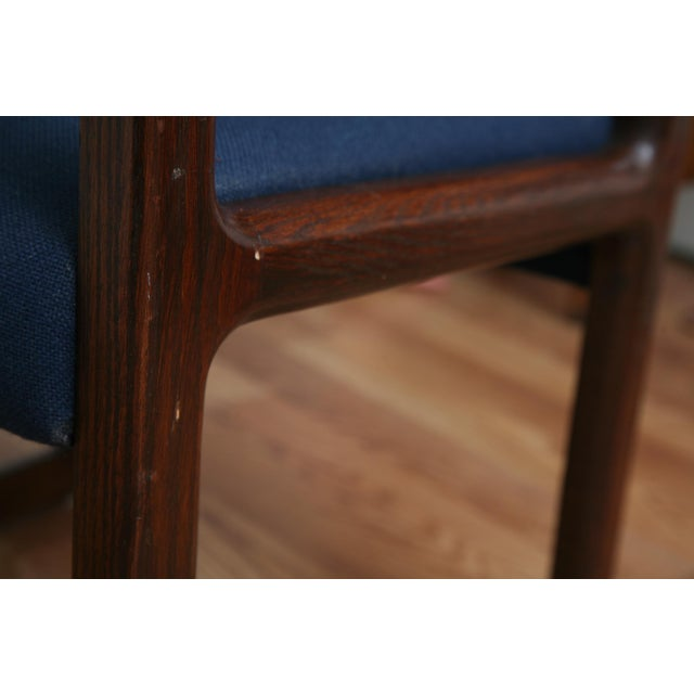 Brown Vintage 1970s Mid-Century Modern Wooden Chair For Sale - Image 8 of 11