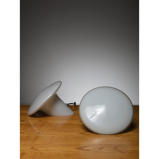 Modern Pair of Table Lamps by Luciano Vistosi for Vistosi For Sale - Image 3 of 5
