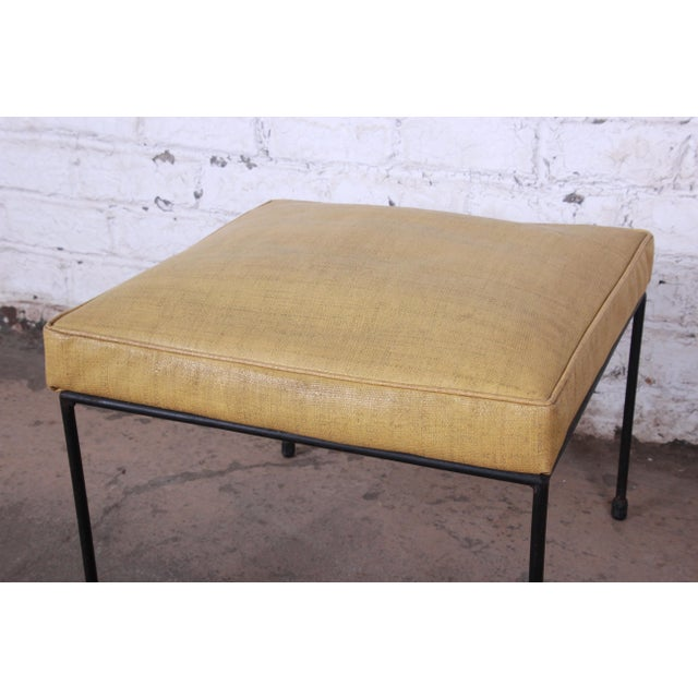 1950s Original Paul McCobb Stool or Ottoman For Sale - Image 5 of 7