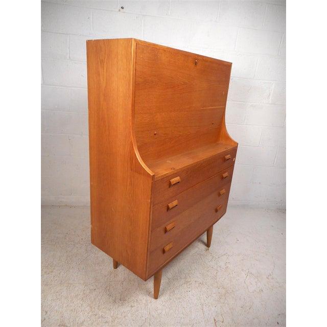 Danish Modern Secretary Desk by Børge Mogensen for Soborg For Sale - Image 13 of 13