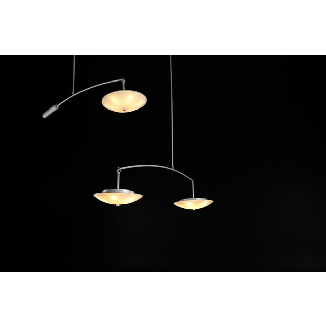 Contemporary Christopher Objects Draftsman No.3 Cantilever Pendant Light by Topher Gent For Sale - Image 9 of 13