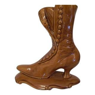 Vintage Usa Boot Vase For Sale