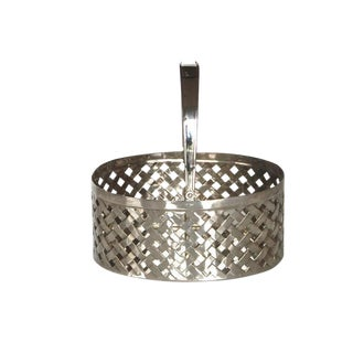 Mid-Century Hollywood Regency Silverplate Basket