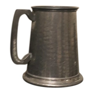 1960s Vintage English Pewter Tankard For Sale