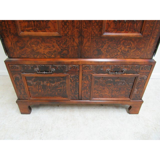 2000s Hickory Chair Thomas O'Brien Collection Armoire For Sale - Image 5 of 13
