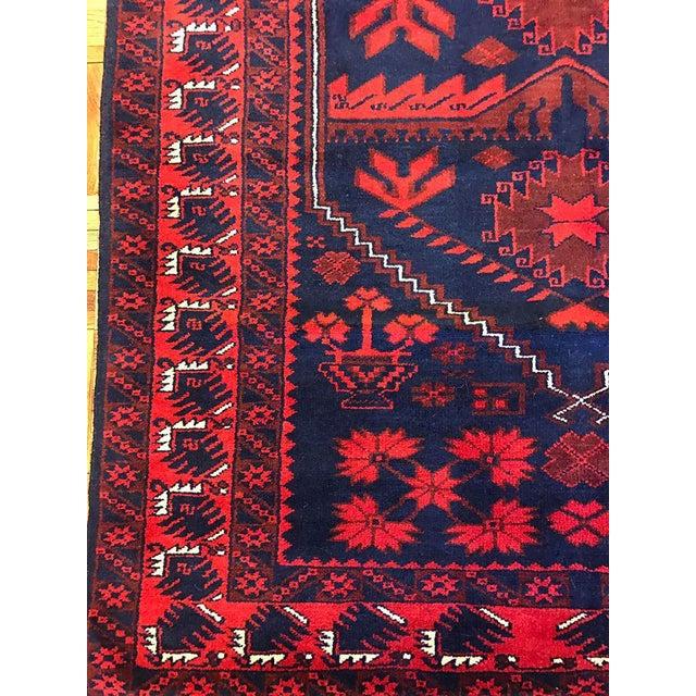 Antique Anatolian Bergama Wool Rug - 4'x6' - Image 5 of 6