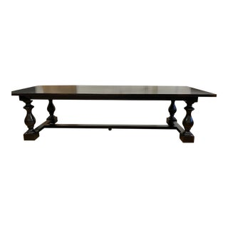 Restoration Hardware 17th C. Monastery Rectangular Dining Table For Sale