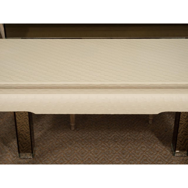 Asian White Lacquered Console Table For Sale - Image 3 of 10