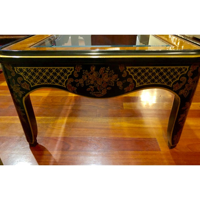 1980s Chinoiserie Drexel Heritage Coffee Table For Sale In Chicago - Image 6 of 11