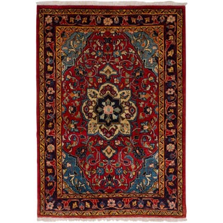 "Mahal Persian Rug, 3'5"" x 4'9"" feet"