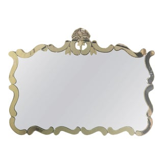 Venetian Style Over Mantle or Console Mirror