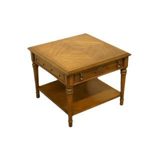 Late 20th Century Vintage Drexel Esperanto Collection End Table For Sale
