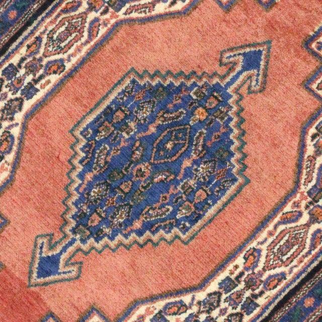 Vintage Sanadaj Persian Rug, Kitchen Rug, Foyer or Entry Rug, 02'02 X 03'07 For Sale - Image 4 of 6