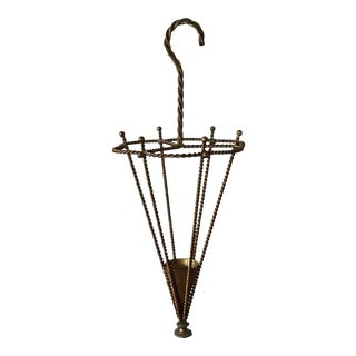 Elegant Italian Umbrella Stand For Sale