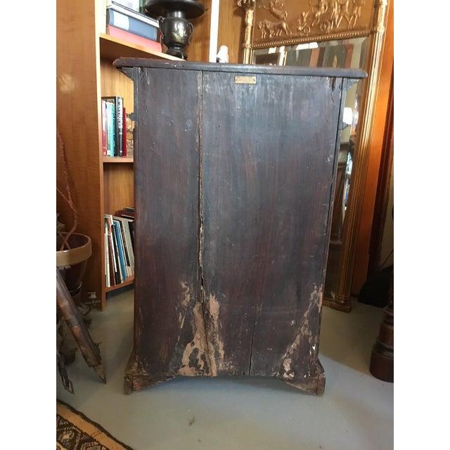 1900s Renaissance Revival Oak Prie Dieu Watson & Boaler Nighstand For Sale - Image 9 of 11