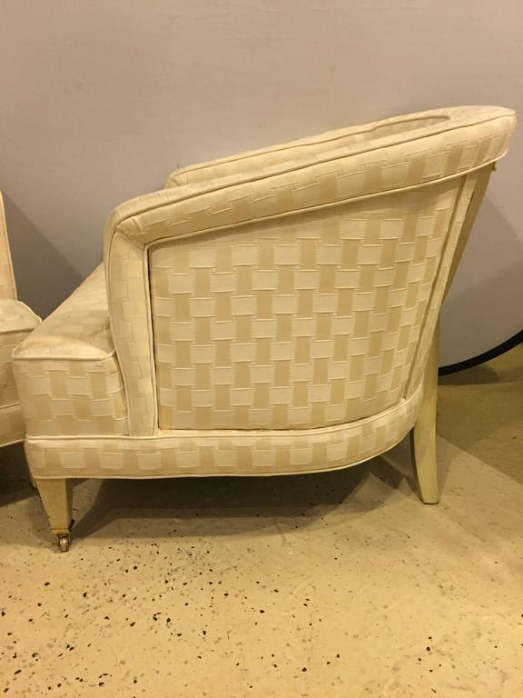 Hollywood Regency Dorothy Draper Style Lounge Chairs   A Pair   Image 3 Of 7