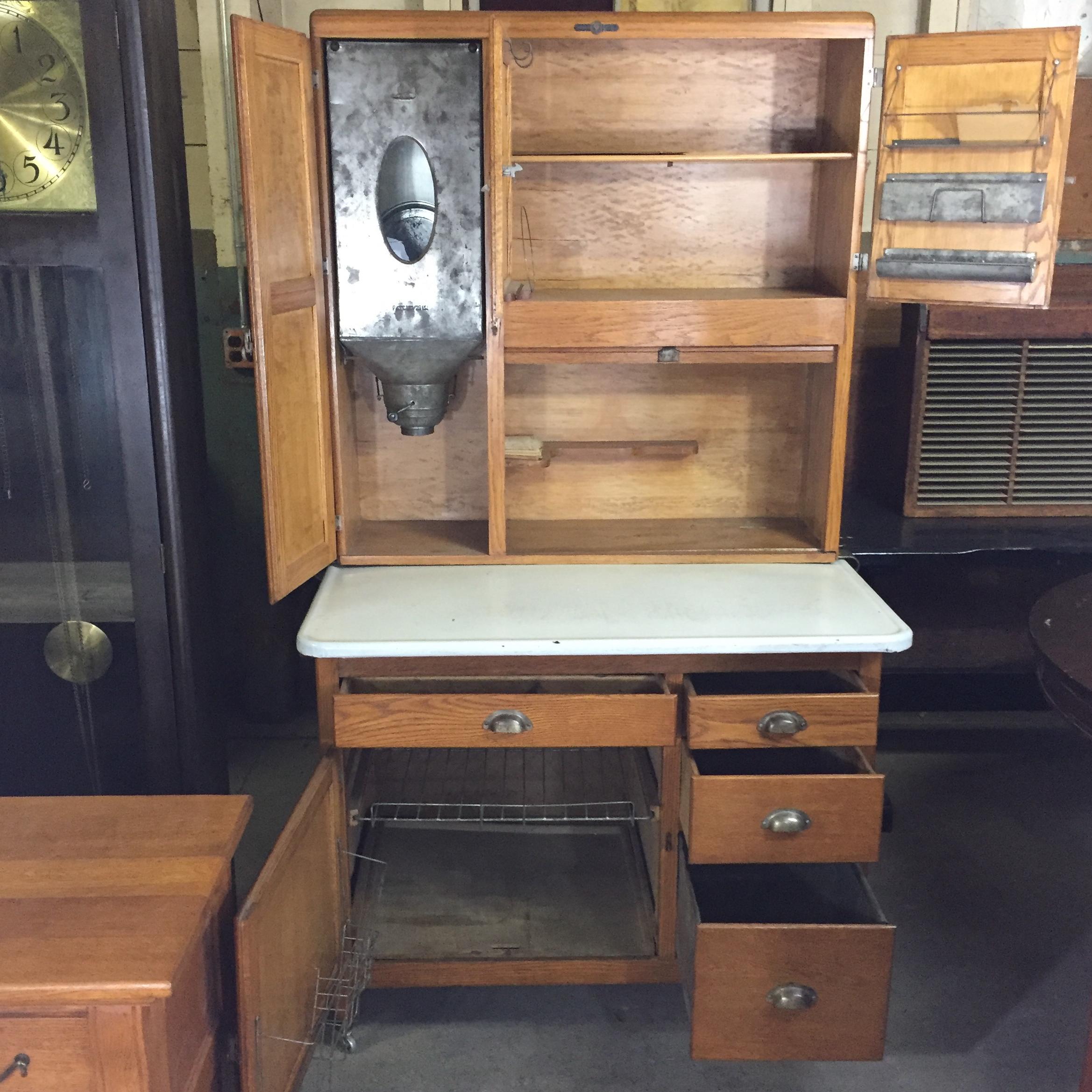 Charmant Napanee Dutch Kitchenette Hoosier Cabinet   Image 3 Of 7