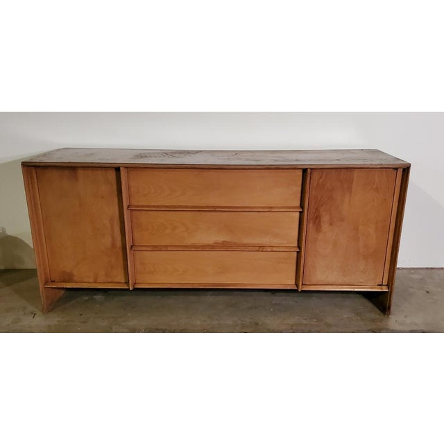 1950s T. H. Robsjohn-Gibbings Credenza for Widdicomb For Sale - Image 13 of 13