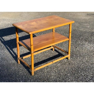 1950s Adirondack Heywood Wakefield Side Table Preview