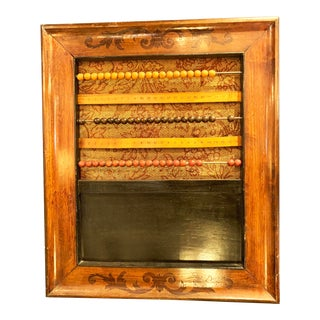 Antique French Framed Abacus For Sale