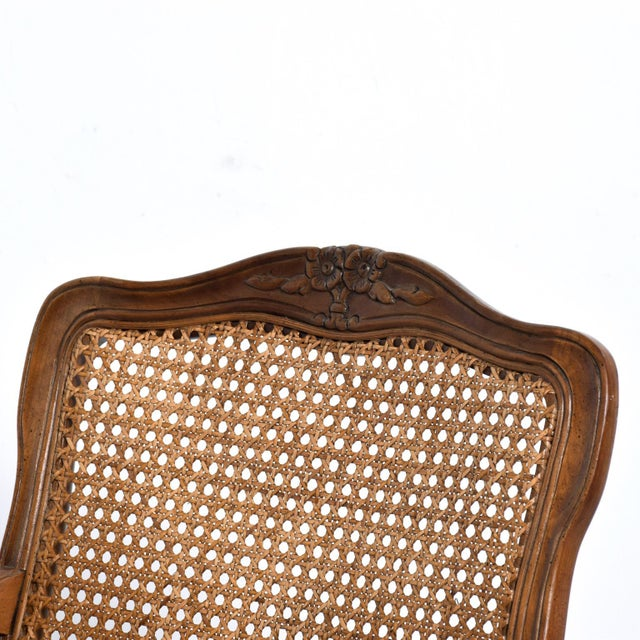 Empire Hollywood Regency Arm Chairs by Kindel - a Pair For Sale - Image 3 of 11