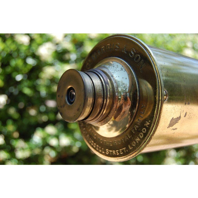 Late 19th Century English Refracting Telescope For Sale - Image 5 of 9
